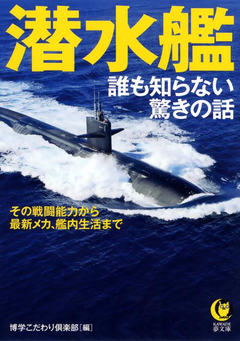 潜水艦 誰も知らない驚きの話 その戦闘能力から、最新メカ、艦内生活まで――-電子書籍-拡大画像