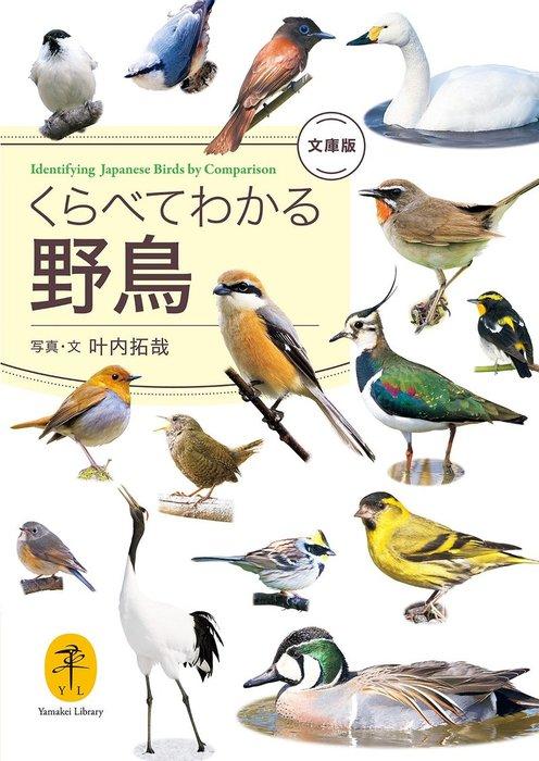 ヤマケイ文庫 くらべてわかる野鳥 文庫版拡大写真