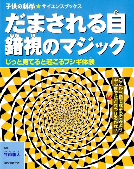 だまされる目 錯視のマジック拡大写真