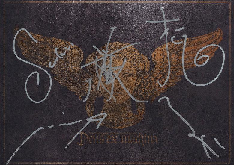 ナイトメア公式ツアーパンフレット 2012 TOUR 2012 FINAL Deus ex machina拡大写真