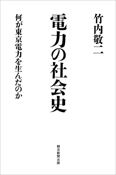 電力の社会史 何が東京電力を生んだのか拡大写真