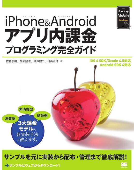 iPhone&Androidアプリ内課金プログラミング完全ガイド拡大写真