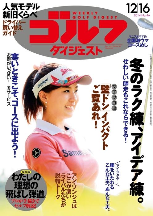週刊ゴルフダイジェスト 2014/12/16号拡大写真