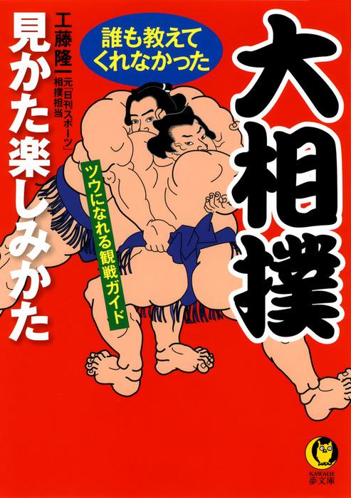 大相撲 誰も教えてくれなかった見かた楽しみかた ツウになれる観戦ガイド拡大写真