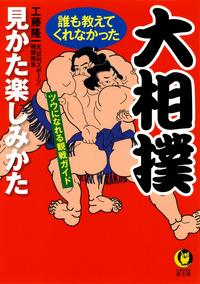 大相撲 誰も教えてくれなかった見かた楽しみかた ツウになれる観戦ガイド-電子書籍