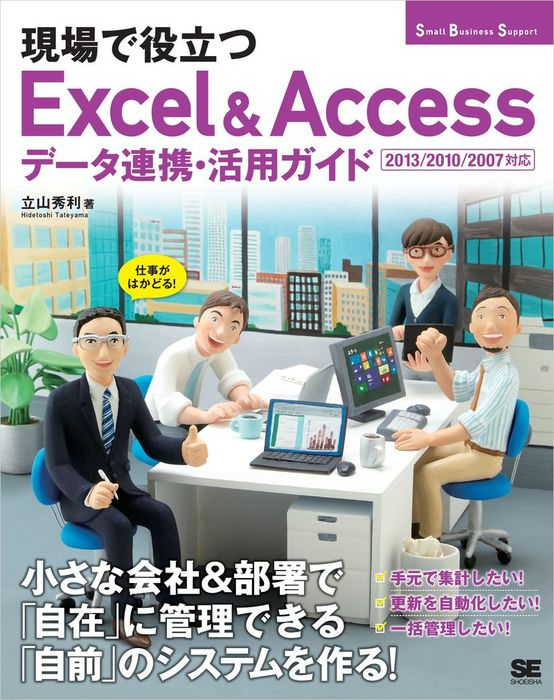 現場で役立つExcel & Accessデータ連携・活用ガイド 2013/2010/2007対応拡大写真