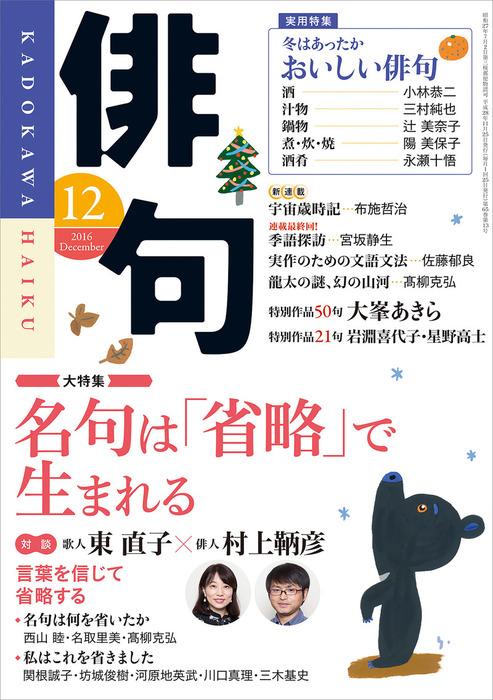 俳句 28年12月号拡大写真