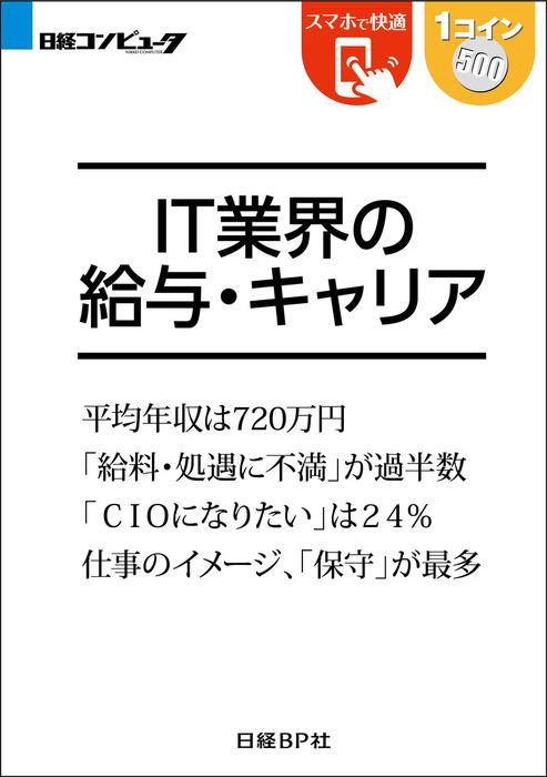 IT業界の給与・キャリア(日経BP Next ICT選書)拡大写真