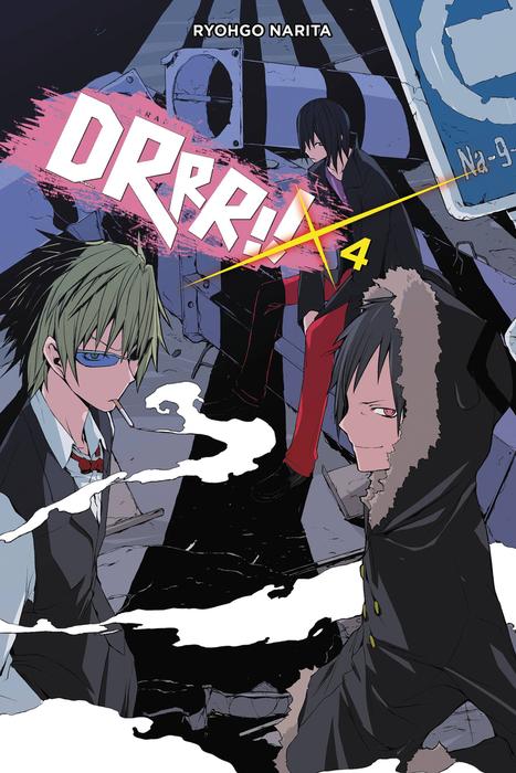 Durarara!!, Vol. 4 (novel)拡大写真