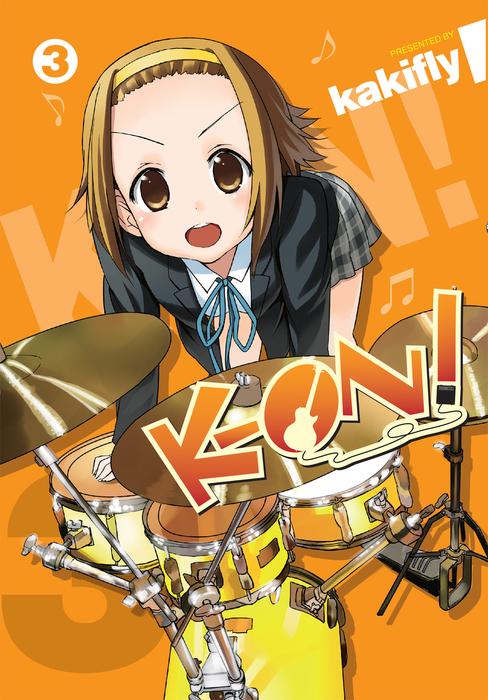 K-ON!, Vol. 3拡大写真