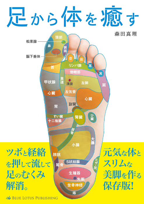 足から体を癒す拡大写真