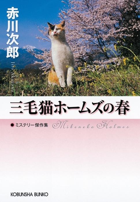 三毛猫ホームズの春拡大写真