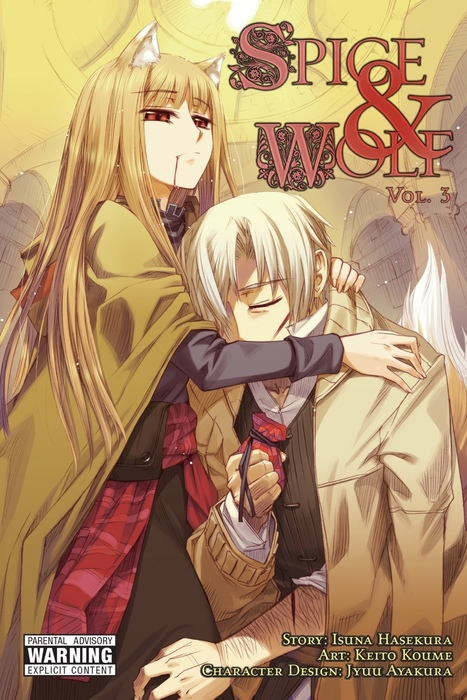 Spice and Wolf, Vol. 3 (manga)拡大写真