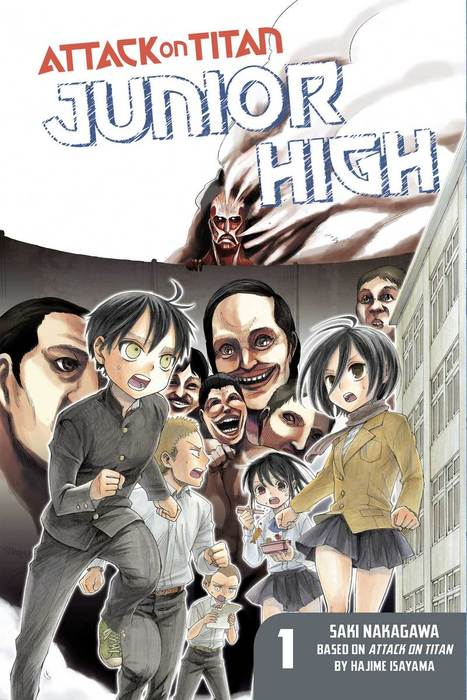 Attack on Titan: Junior High 1-電子書籍-拡大画像