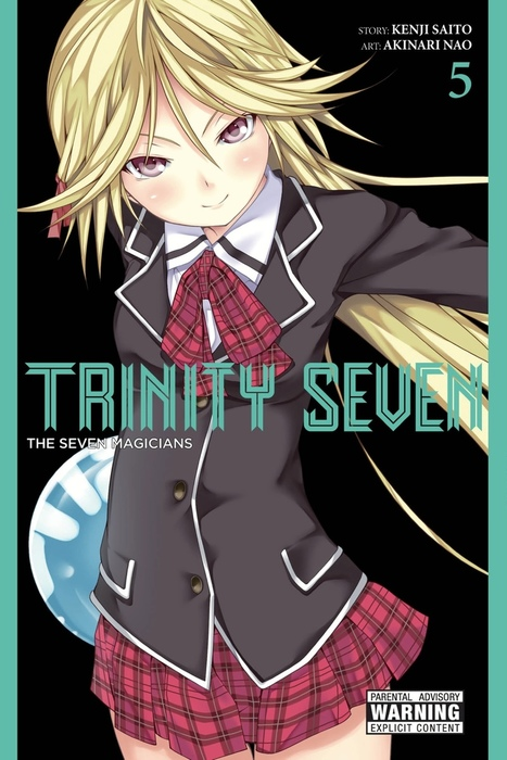 Trinity Seven, Vol. 5拡大写真