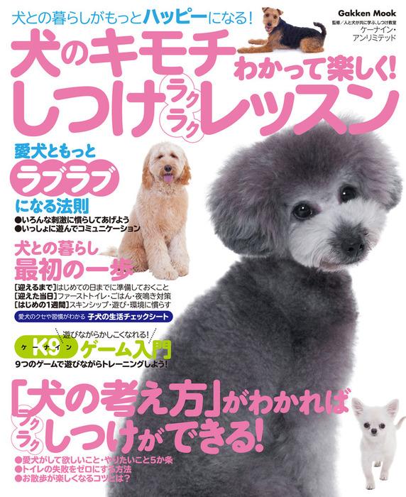 犬のキモチわかって楽しく! しつけラクラクレッスン 犬との暮らしがもっとハッピーになる!拡大写真