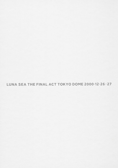 THE FINAL ACT TOKYO DOME-電子書籍