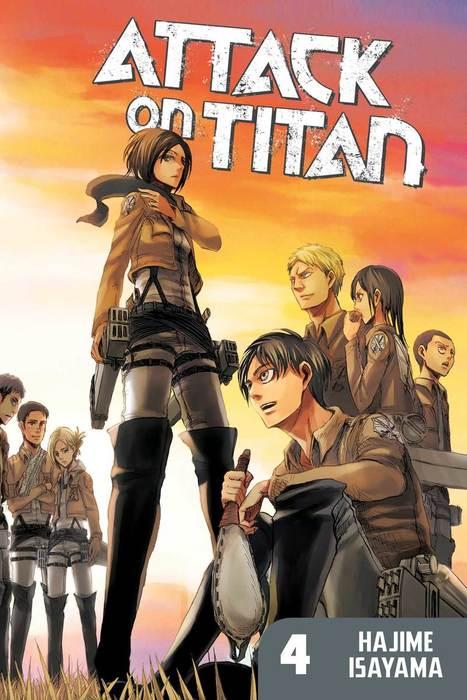 Attack on Titan 4拡大写真
