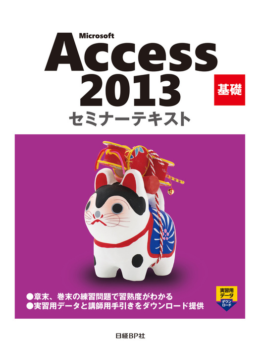 Microsoft Access 2013 基礎 セミナーテキスト拡大写真