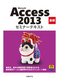 Microsoft Access 2013 基礎 セミナーテキスト-電子書籍