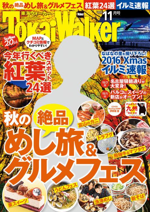 TokaiWalker東海ウォーカー 2016 11月号拡大写真
