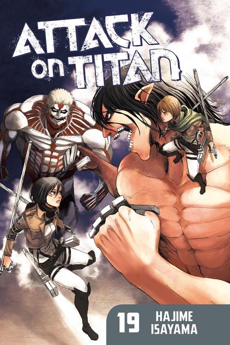 Attack on Titan 19拡大写真