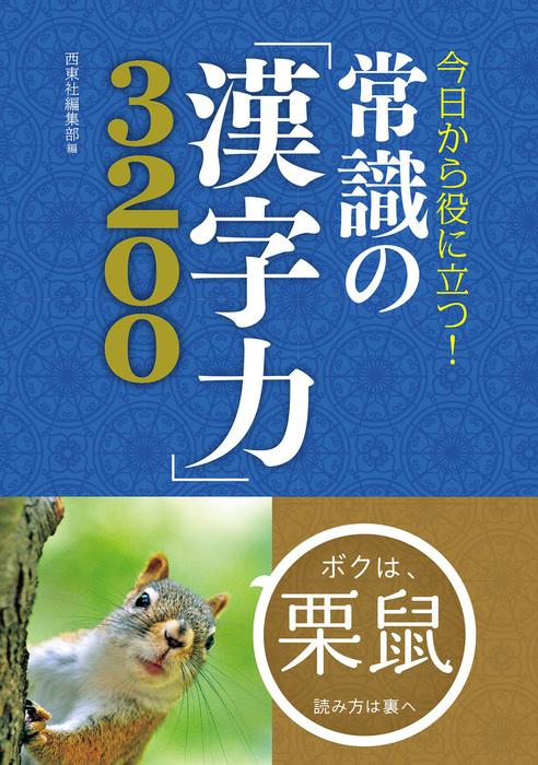 今日から役に立つ! 常識の「漢字力」3200拡大写真