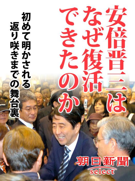 安倍晋三はなぜ復活できたのか 初めて明かされる返り咲きまでの舞台裏拡大写真