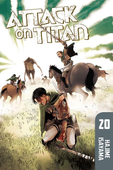 Attack on Titan Volume 20拡大写真