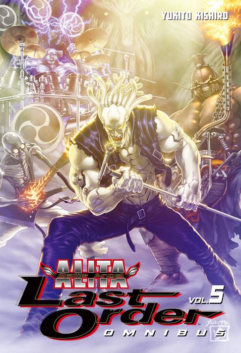 Battle Angel Alita: Last Order Omnibus Omnibus 5拡大写真