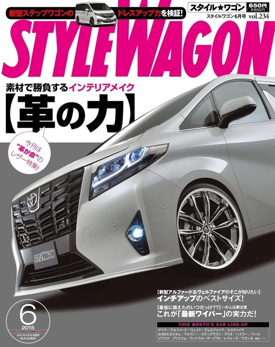 STYLE WAGON 2015年6月号拡大写真