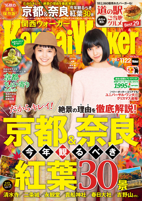 KansaiWalker関西ウォーカー 2016 No.22拡大写真