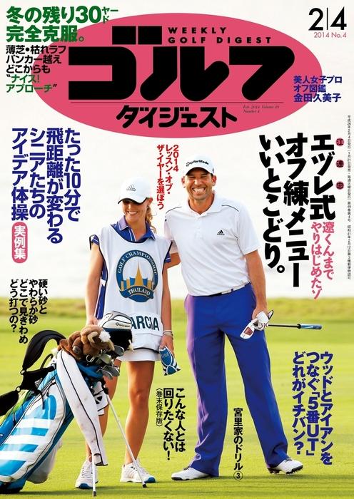 週刊ゴルフダイジェスト 2014/2/4号拡大写真