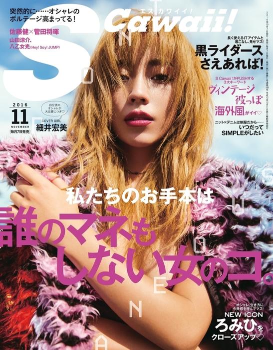 S Cawaii!(エスカワイイ) 2016年11月号拡大写真