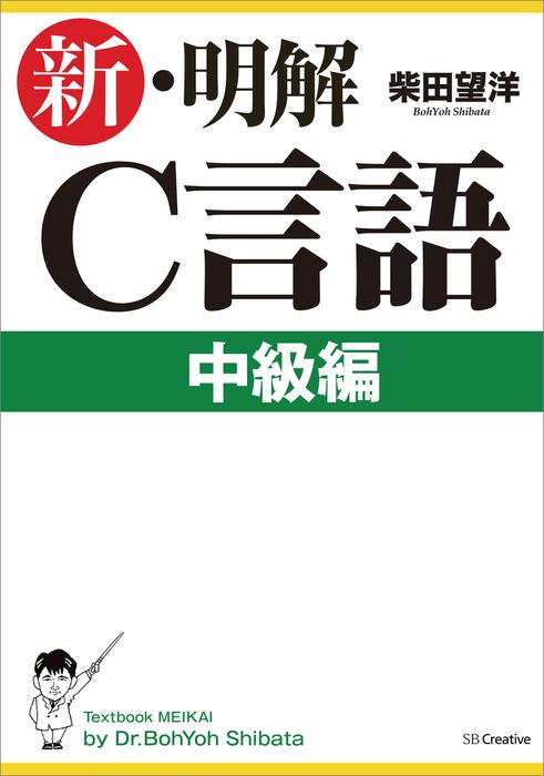 新・明解C言語中級編拡大写真