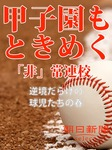 甲子園もときめく「非」常連校 逆境だらけの球児たちの春-電子書籍