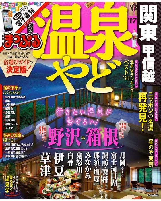まっぷる 温泉やど 関東・甲信越'17拡大写真