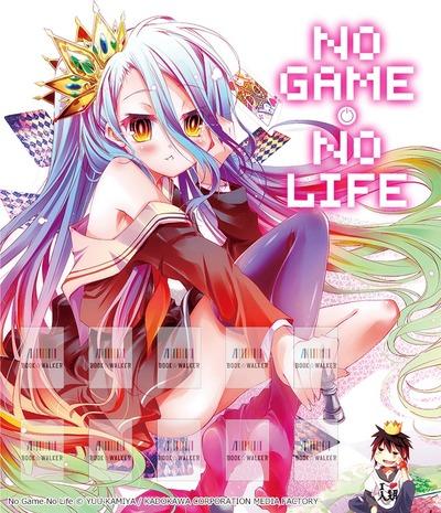 No Game No Life, Vol. 1: Bookshelf Skin [Bonus Item]