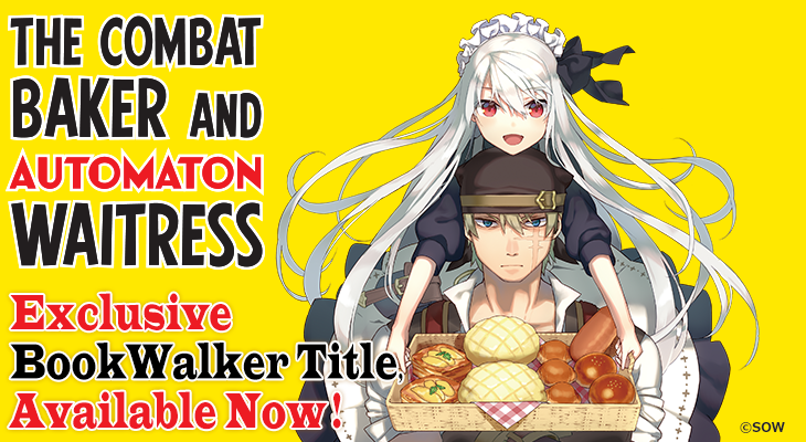 The Combat Baker and Automaton Waitress (Featured Special)|BOOK