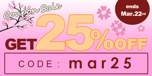 25% off for all titles!
