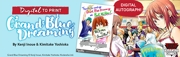 Kodansha Comics Grand Blue Dreaming
