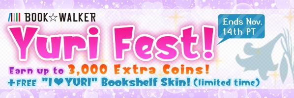 BOOK☆WALKER Yuri Fest