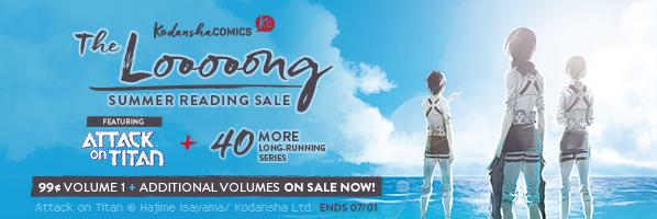 Kodansha Comics Long Summer Reading Sale