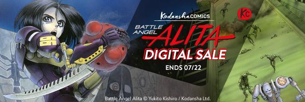 Kodansha Comics Alita Sale