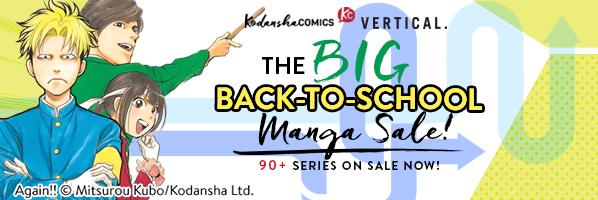 Kodansha Comics: The Big Back to School Manga sale