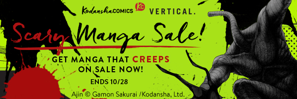 Kodansha Comics Scary Manga Sale