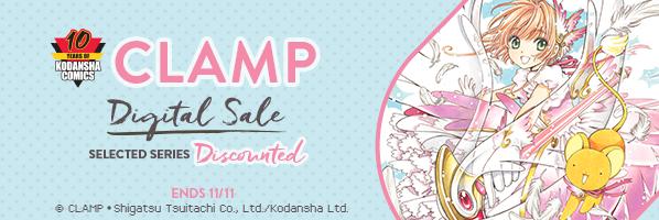 Kodansha Comics: CLAMP sale