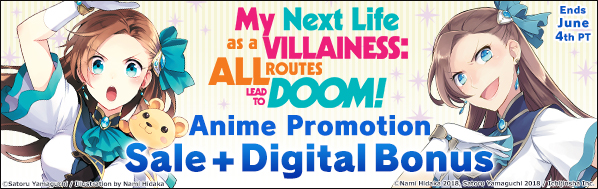 My Next Life as a Villainess: All Routes Lead to Doom! Anime Fair