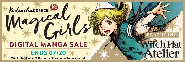 Kodansha promotion: Magical Girls