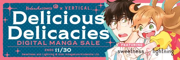 Kodansha promotion: Delicious Delicacies